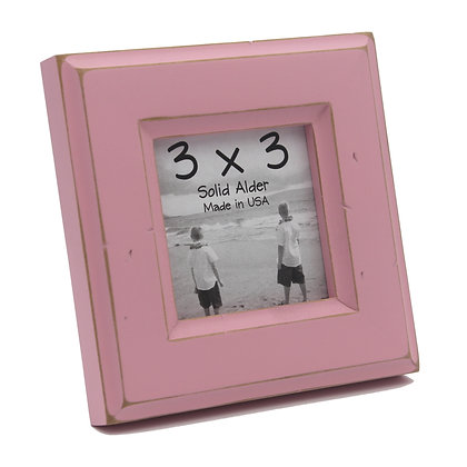 3x3 Moab Picture Frame - Petal Pink