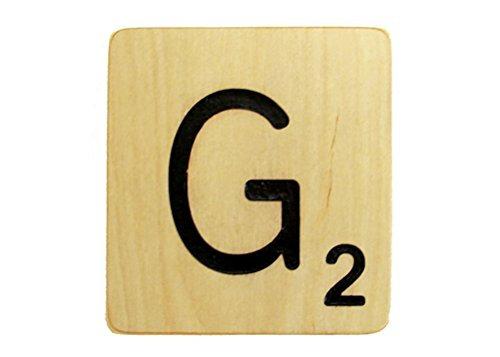 5x5 Scrabble Tile G