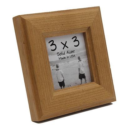 3x3 Moab Picture Frame - Natural Alder