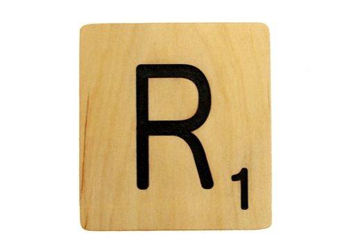 9x9 Scrabble Tile R