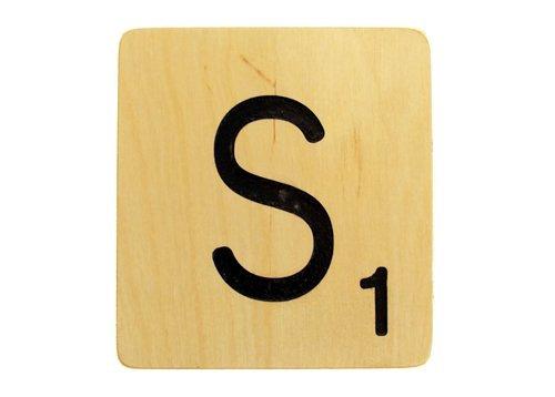 5x5 Scrabble Tile S