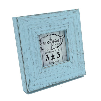3x3 Country Colors Frame - Sky Blue