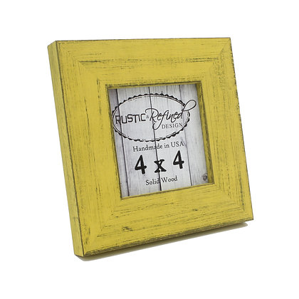 4x4 Country Colors Frame - Southern Yellow