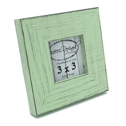 3x3 Country Colors Frame - Mint Julep