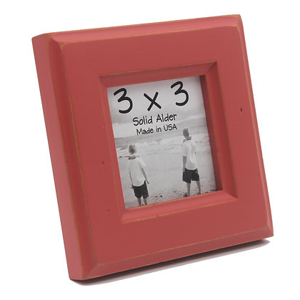 3x3 Moab Picture Frame - Mojave Red