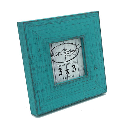 3x3 Country Colors Frame - French Teal