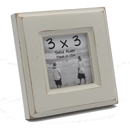 3x3 Moab Picture Frame - Off White