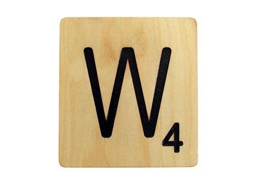 9x9 Scrabble Tile W
