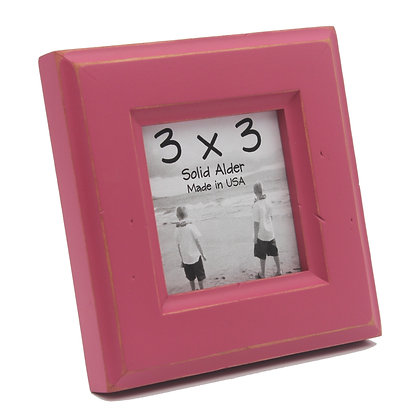 3x3 Moab Picture Frame - Hot Pink