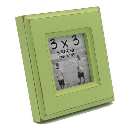 3x3 Moab Picture Frame - Citron