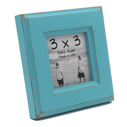 3x3 Moab Picture Frame - Turquoise