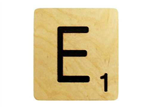 9x9 Scrabble Tile E