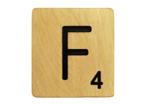 9x9 Scrabble Tile F