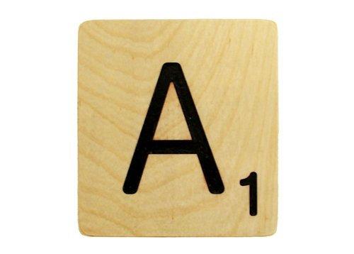 9x9 Scrabble Tile A