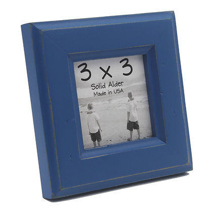 3x3 Moab Picture Frame - Colonial Blue