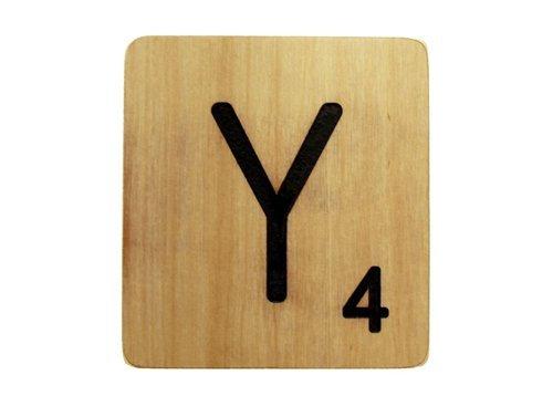 9x9 Scrabble Tile Y