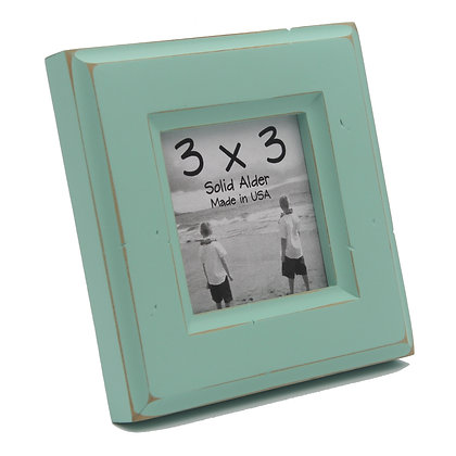3x3 Moab Picture Frame - Sea Foam