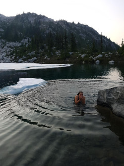Cold Water Dip!