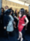 Aretha Franklin, Leila Sbitani, TV Land Awards