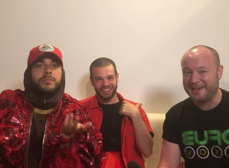 Portugal |  'Trust In Me' As Conan Osiris, And  João Talk To Eurovoxx