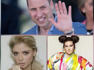 Eurovision Royalty Meets British Royalty
