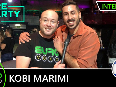 Israel | Find Out What Gets Kobi Marimi All Emotional As He Talks To Eurovoxx