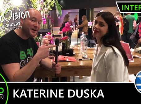 Greece |  'I Really Didn't Expect Eurovision'.  Eurovoxx Talks To Katerine Duska