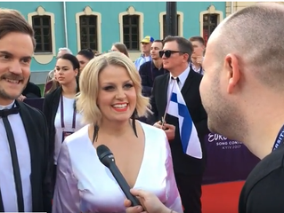 Eurovoxx live at the red carpet with Croatia, Denmark and Finland