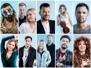 Norway    Melodi Grand Prix 2019 Running Order Revealed