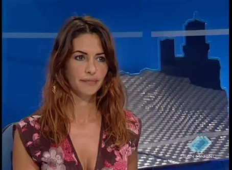 San Marino |  Monica Fabbri Will Annouce Votes For San Marino At Eurovision 2019