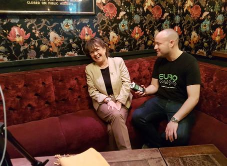 Anne Marie David Talks To Eurovoxx