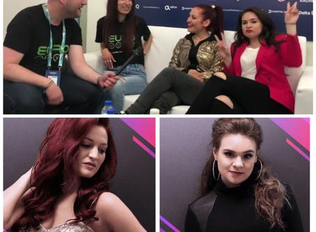 """We Have One Crazy Moment"" - Eurovoxx Talks To Jessika Ft Jenifer Brening"