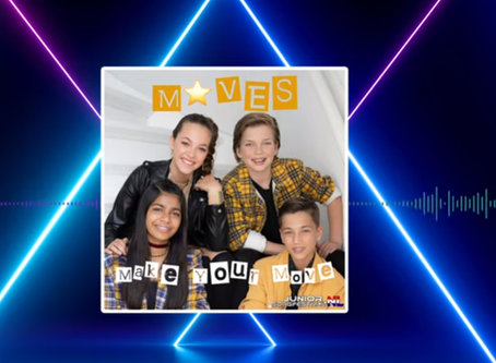 Netherlands | 'Make Your Move' As  M⭐VES Are Announced As The Final Song For Junior Song Fes