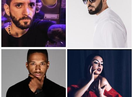 Eurovoxx Live On The Blue Carpet With Albania, Armenia, Austria And Azerbaijan