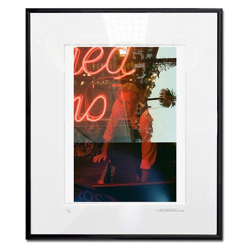 Barman, Framed 35mm Color hand print