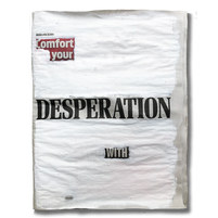 """""""Comfort your desperation with silence"""". Tuesday 28th April 2020"""