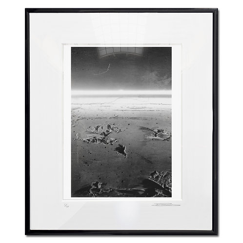 'Darkside of the moon' Framed 35mm B&W print