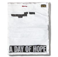 """""""Heroes emerge into the light as we fight another cruel enemy. Todat is a day of hope"""". Friday 8th May 2020"""