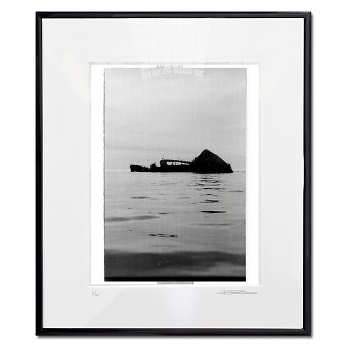 Taken by the times, Framed 35mm B&W hand print