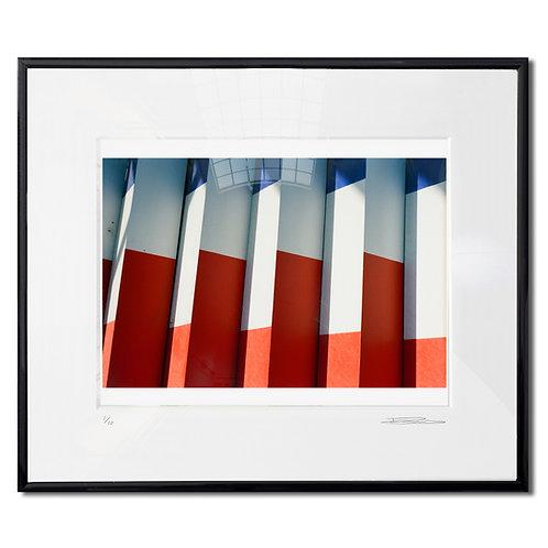 Salton sea, Framed 35mm Color hand print