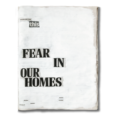 """""""This fear in our homes lives because of a lack of potential unfolding"""". Wednesday 15th April 2020 - @ramvafa"""