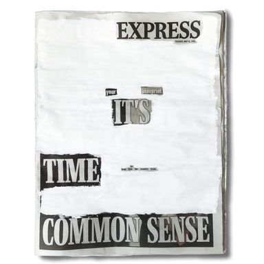 """""""Express you blueprint. It's time to help free the country form common sense"""". Tuesday, May 12th 2020."""