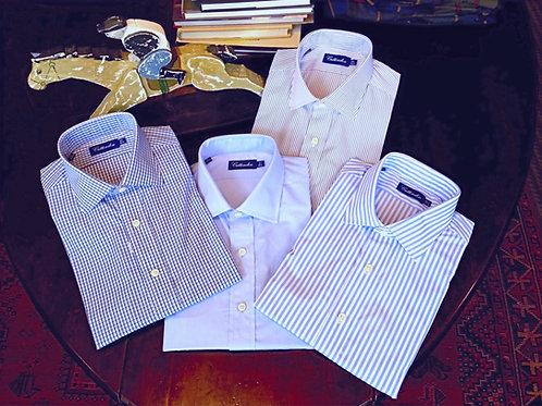 Crittenden Super 190s Dress Shirt, Blue Stripe/Blue Check/ Pinstripe/Solids