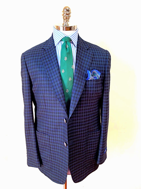 CR 1252 Harrods Blackwatch Houndstooth with Patch Pocket