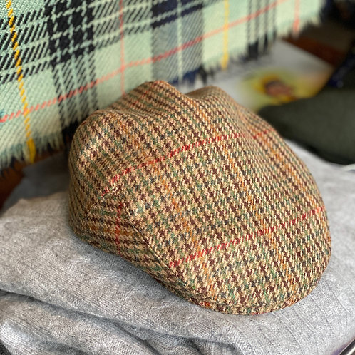 Irish Wool Tweed Cap