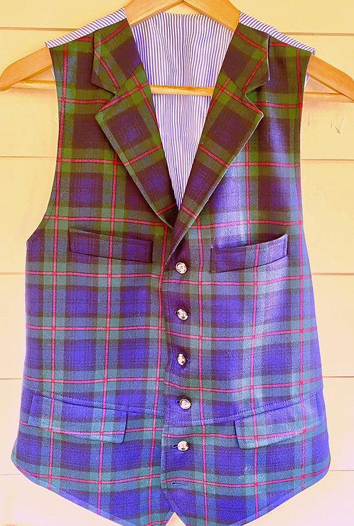Crittenden Wool Tartan Vest