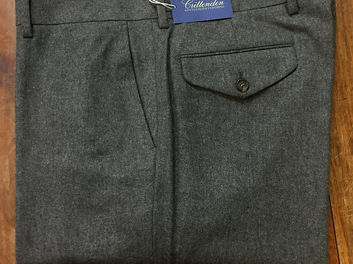 CR 1212: Crittenden Signature Grey Flannel Trousers