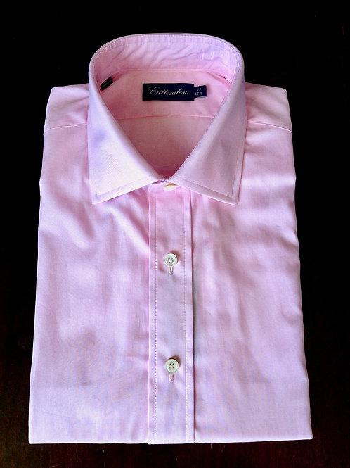 Crittenden Super 100s Dress Shirt, Solid Pink