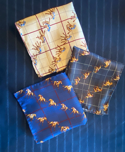 Crittenden Signature Equestrian Pocket Squares