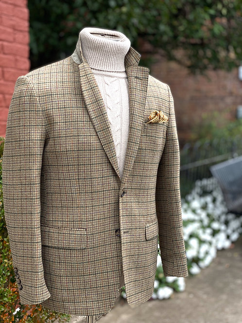 CR 648 Stuart Saxony Houndstooth Sportcoat